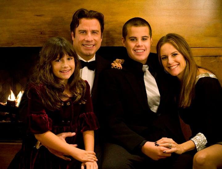 john travolta kelly preston and kids