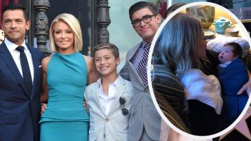 kelly ripa family
