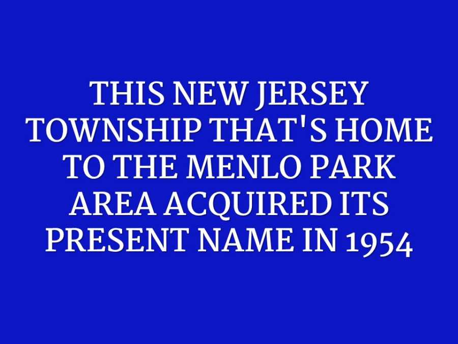 new jersey question