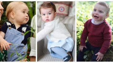 royal children first year portraits