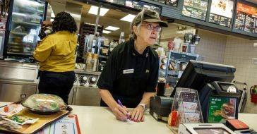 senior citizen fast food restaurant
