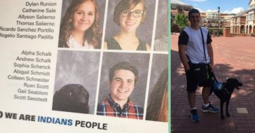 service dog earns spot in yearbook
