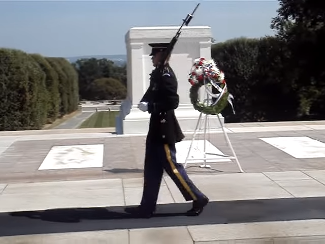 service guard at ceremony