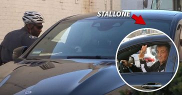sylvester stallone parking ticket