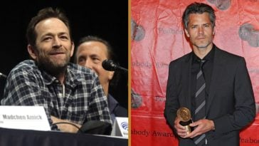 timothy olyphant remembers luke perry