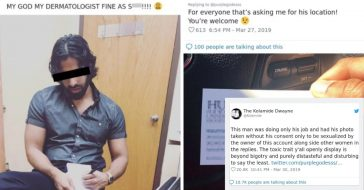 woman posts photo of doctor without consent (1)