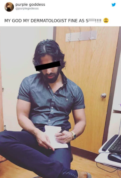 Woman posts photo of her doctor without permission