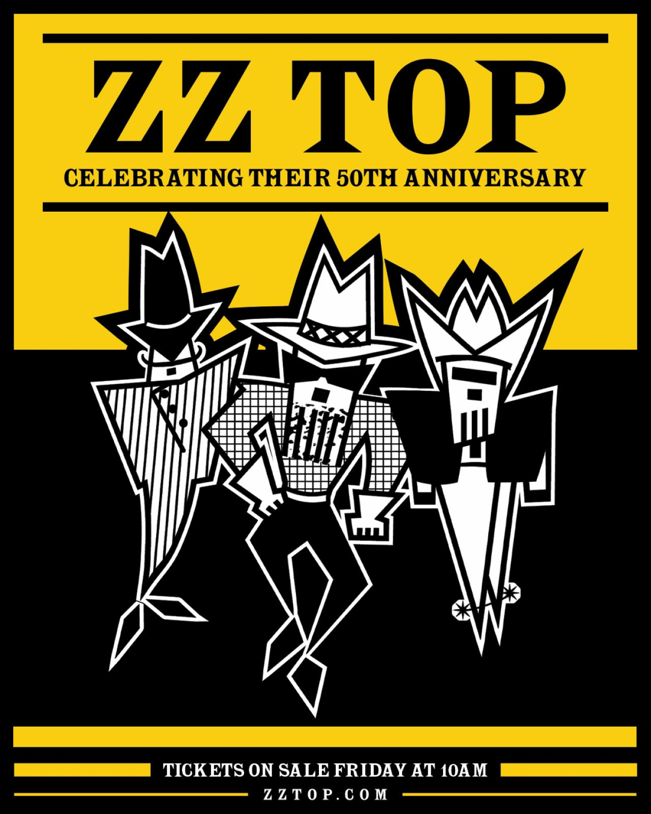 zz top announces 50th anniversary tour. Black Bedroom Furniture Sets. Home Design Ideas