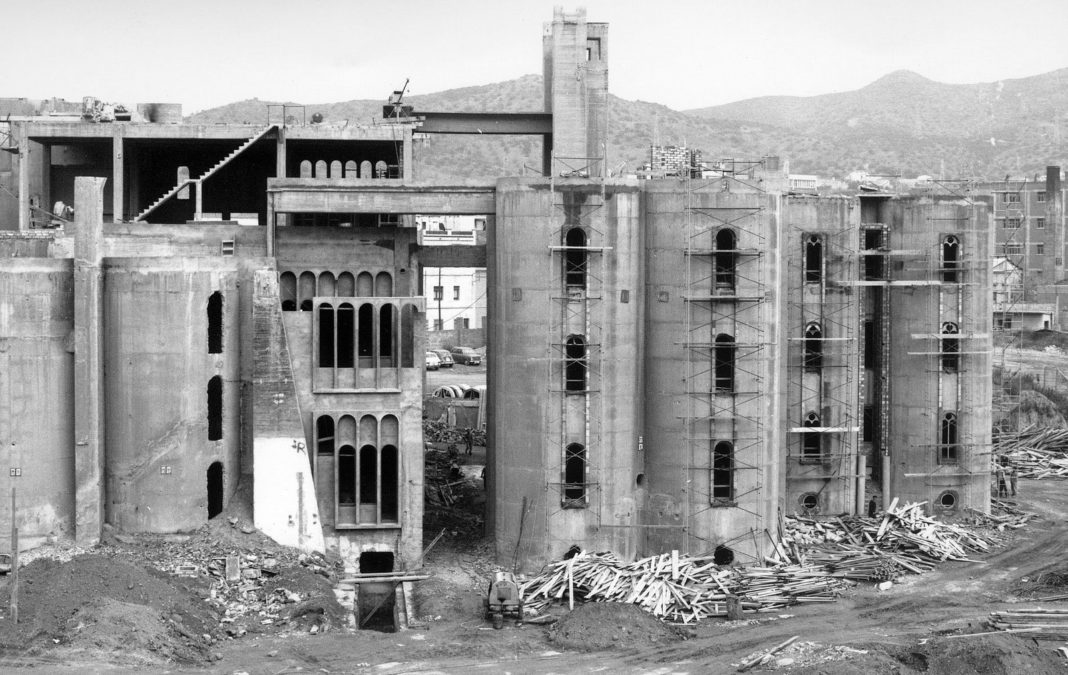 100-year-old abandoned cement factory