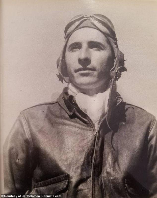 World War II veteran in the military
