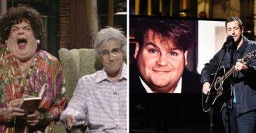 Adam Sandler sings tribute song to Chris Farley on SNL