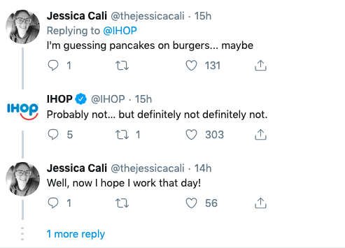 IHOP responding to fans