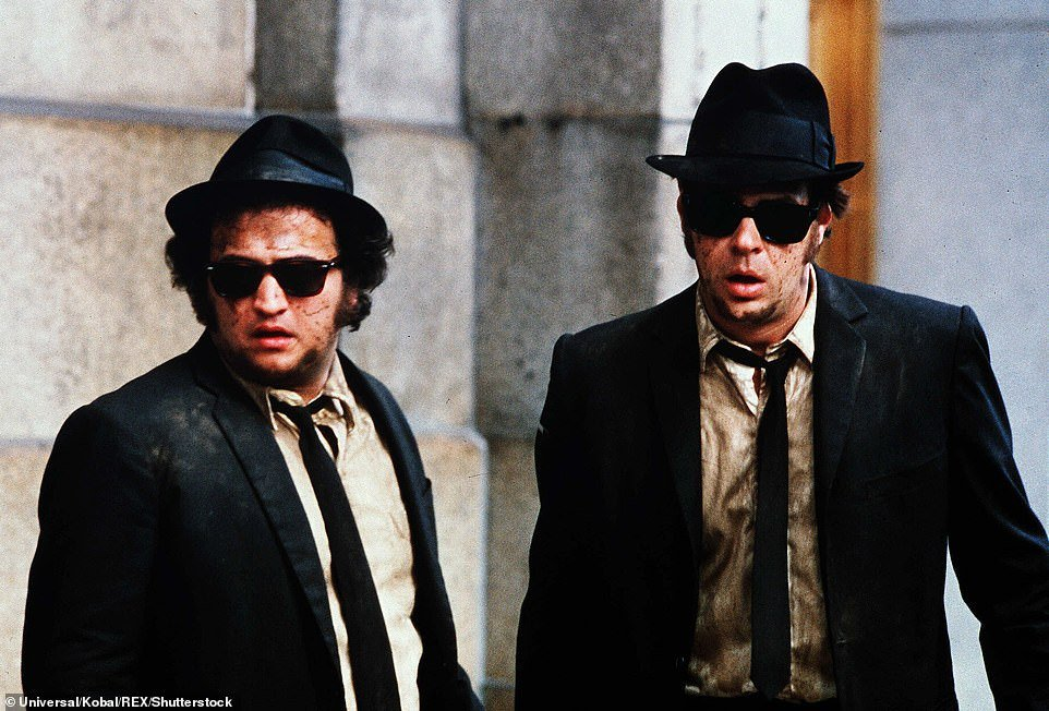 John Belushi in 'Blues Brothers'