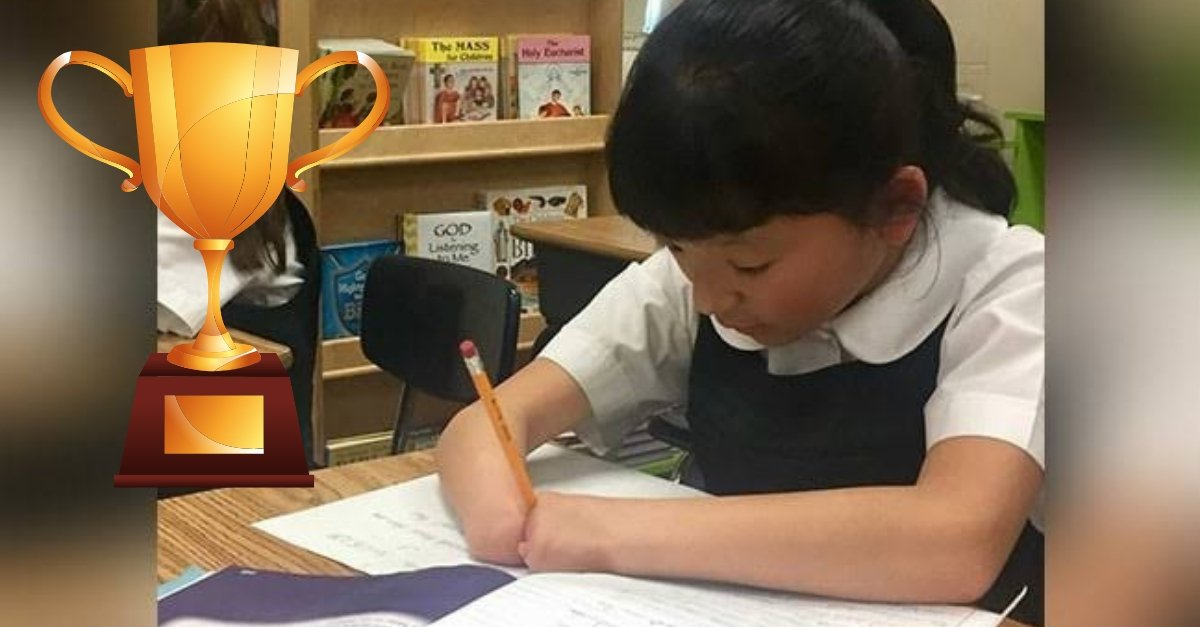 WATCH: Girl Born Without Hands Wins National Handwriting Contest