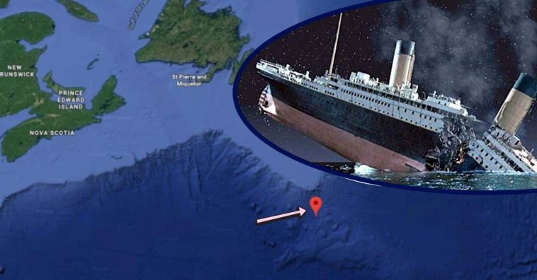 Google Maps Coordinates Detail Exactly Where The Titanic ...