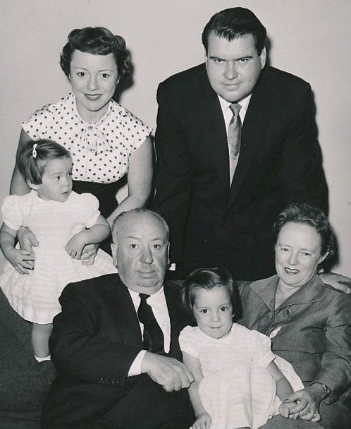 alfred hitchcock family