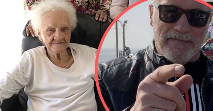 arnold schwarzenegger defends 102 year old woman being evicted from home