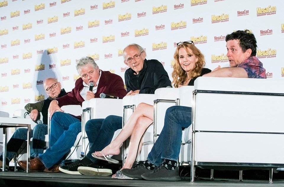 'Back To The Future' Cast Reunites At MegaCon Orlando