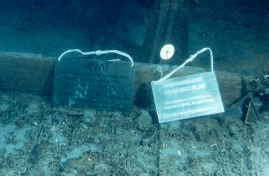 Personal belongings from passengers of the Titanic
