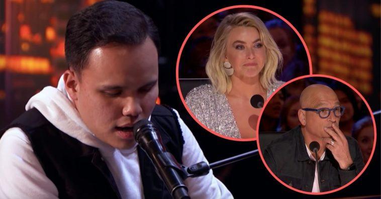 blind autistic singer leaves AGT judges in tears