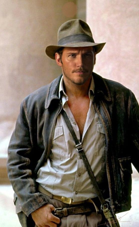 Chris Pratt as Indiana Jones