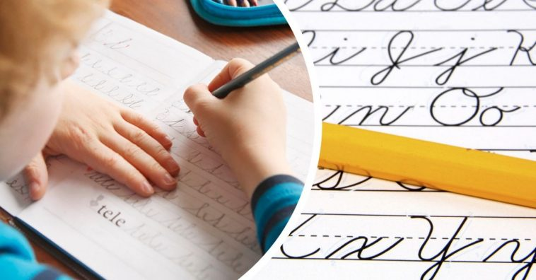 cursive writing coming back to elementary school