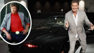 david hasselhoff knight rider return