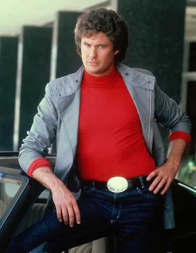 David Hasselhoff in 'Knight Rider'