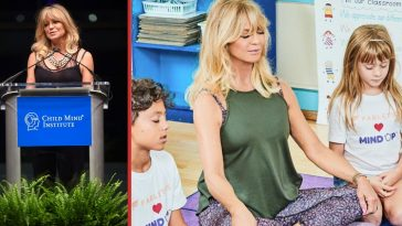 goldie hawn recalls anxiety meditation