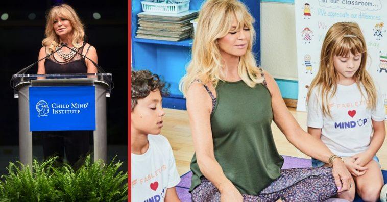 goldie hawn recalls anxiety meditation