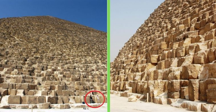 6 Images That Show How Massive The Great Pyramid Of Giza
