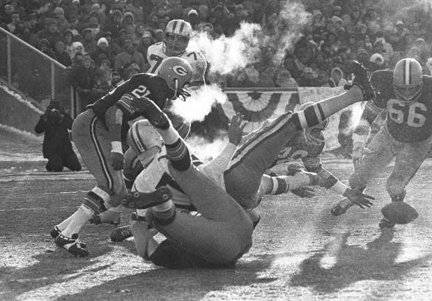 ice bowl green bay packers