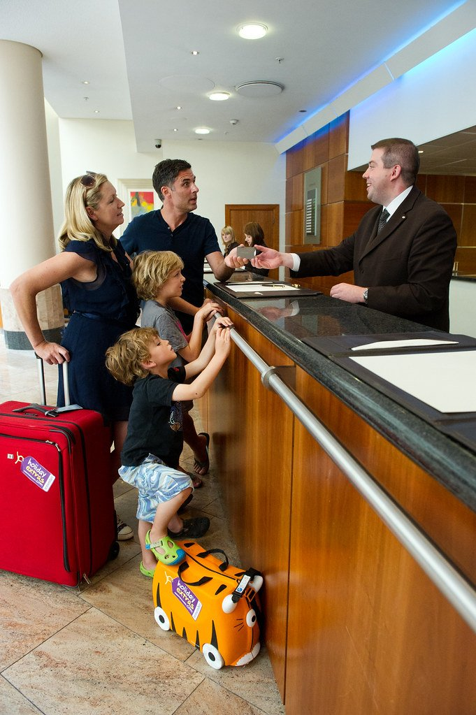 hotel check in
