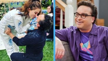 johnny galecki and girlfriend expecting baby boy
