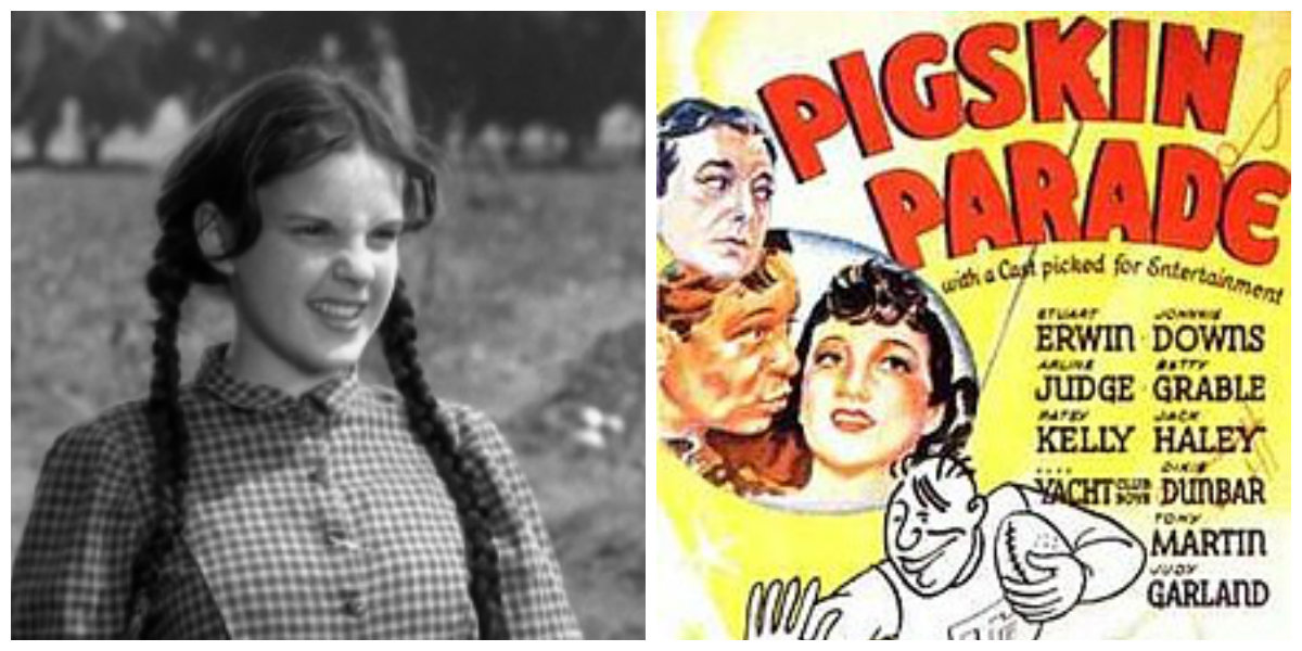 Judy Garland in Pigskin Parade