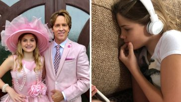 larry birkhead life with 12 year old daughter