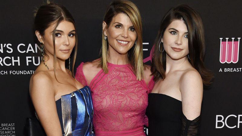 Lori Loughlin and her daughters