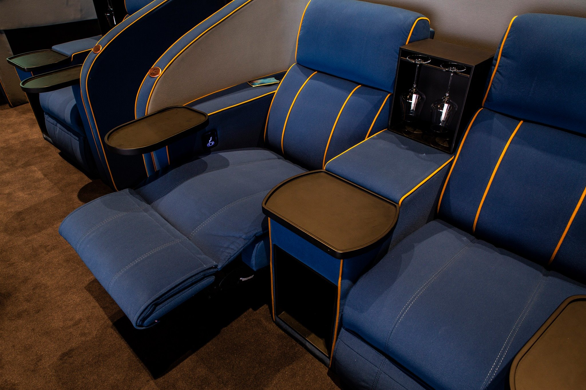 A Swiss Movie Theater Adds Double Beds To Relax In While