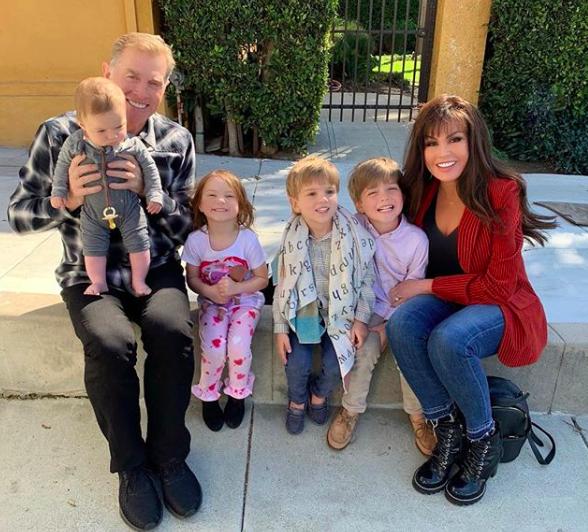 marie osmond and grandchildren