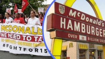 mcdonalds strike
