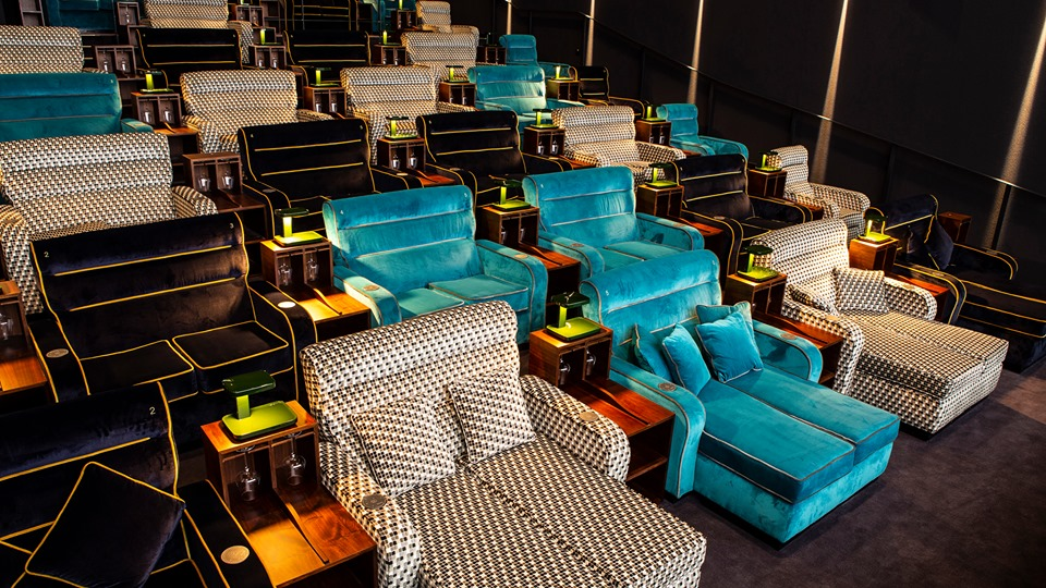 movie theater beds