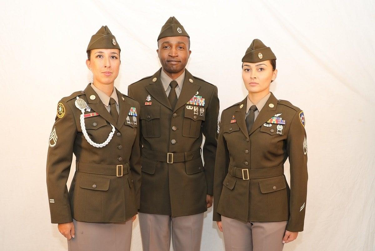 new army uniforms
