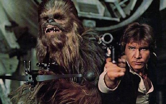 Peter Mayhew in Star Wars