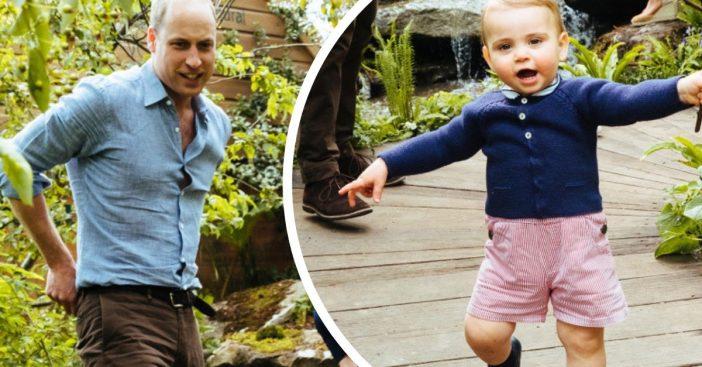 prince louis is finally walking