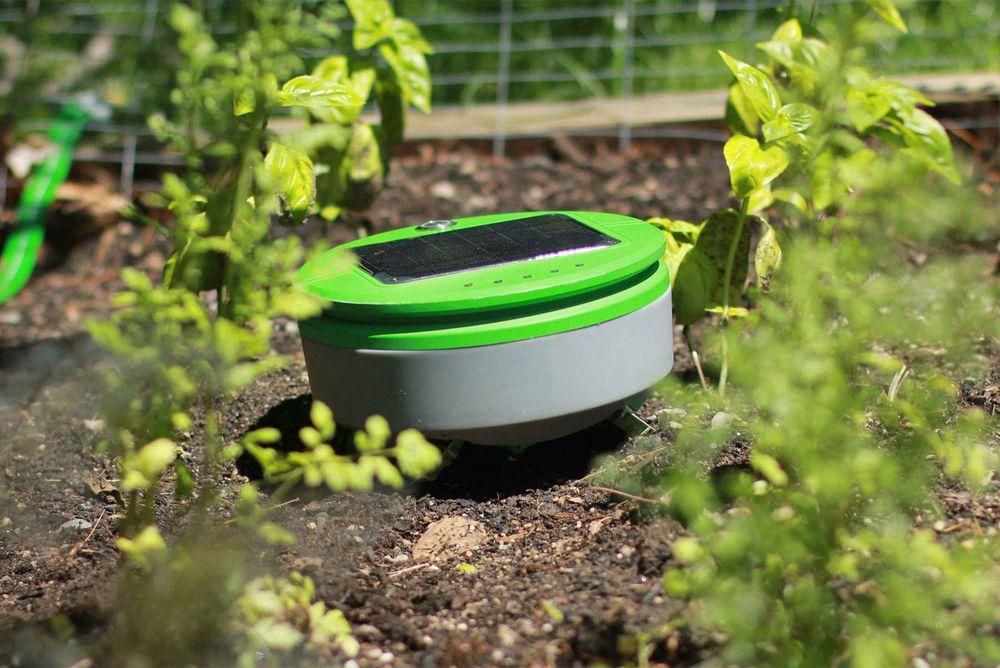 smart gardening robot