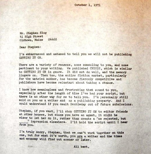 Six Celebrities Who Received Rejection Letters Before They