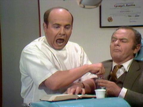 Tim Conway in 'The Dentist' skit