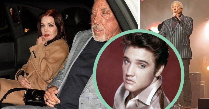 tom jones remembers elvis dines out with priscilla