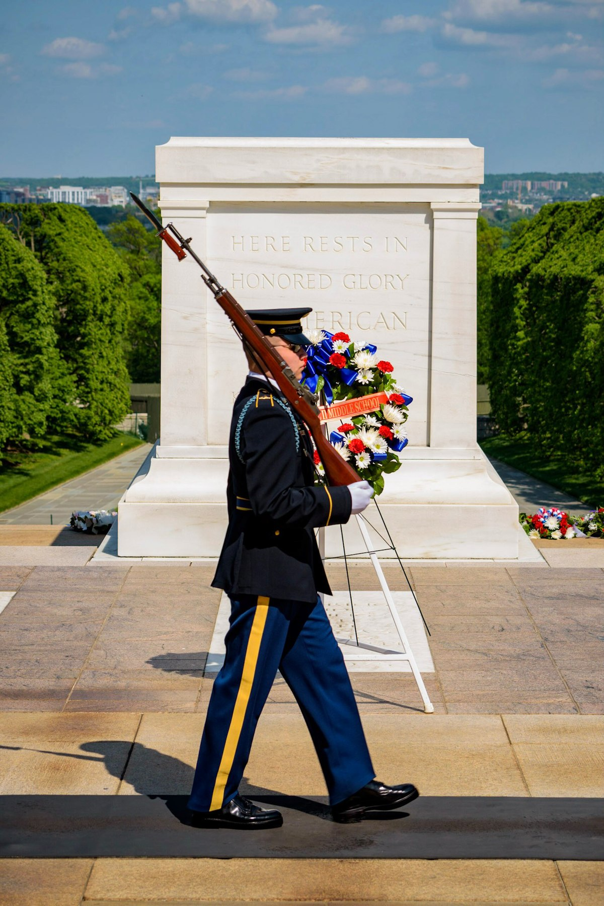 Tomb of the Unknown Soldier ceremony