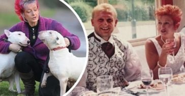 woman chooses dogs over her husband